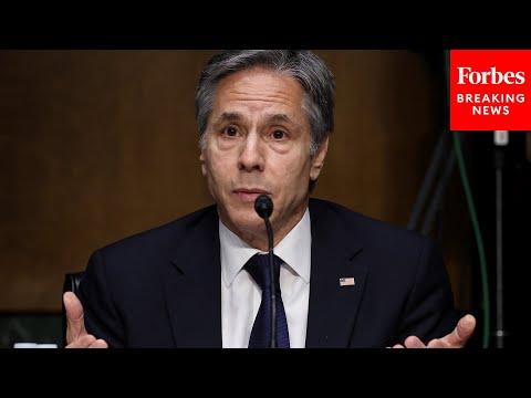Secretary Of State Antony Blinken Testifies Before Senate Foreign Relations Committee