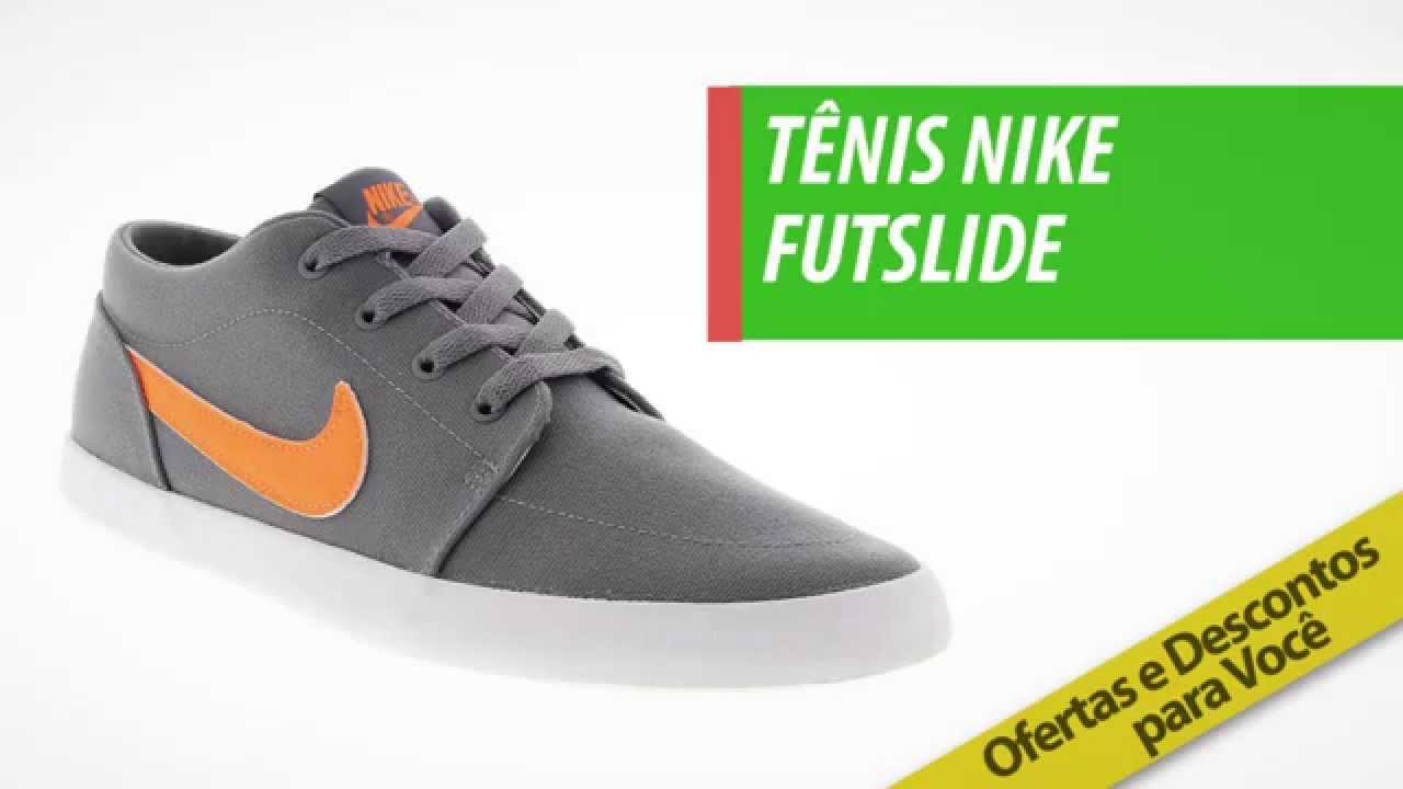 dfcdc76ff798a Tênis Nike Futslide | Compre na Centauro com Preço Exclusivo! - YouTube