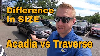 Traverse vs Acadia - Size Comparison