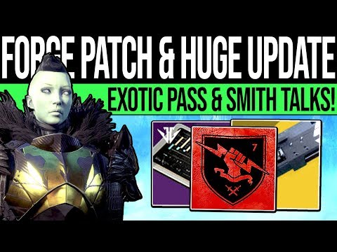 Destiny 2 | HUGE UPDATE & LUKE SMITH TALKS! Future Content, Exotic Buffs, Forge Changes & Jan Update thumbnail