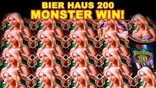 🍻🍻🍻MONSTER Win on Bier Haus 200!! - WMS***