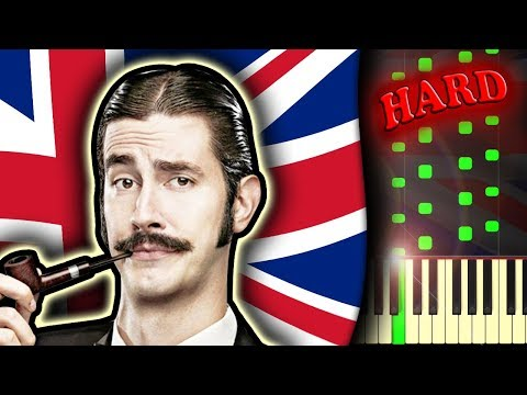GOD SAVE THE QUEEN  THEME AND VARIATIONS  Piano Tutorial