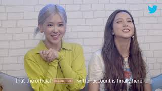 #TwitterBlueroom LIVE with BLACKPINK Q&A   Twitter