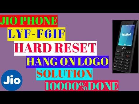 restart lyf phone