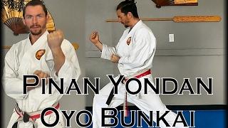 Waza Wednesday 2/8/17 - Pinan Yondan Morote-Uke Oyo Bunkai