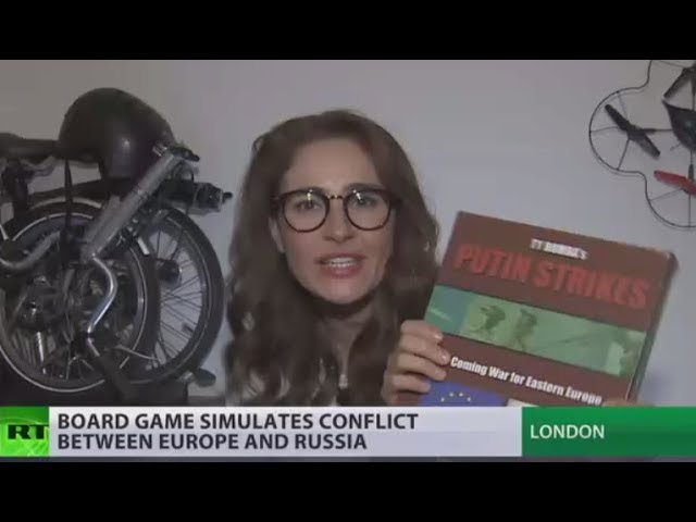 Putin strikes: Board game simulates conflict between Europe & Russia