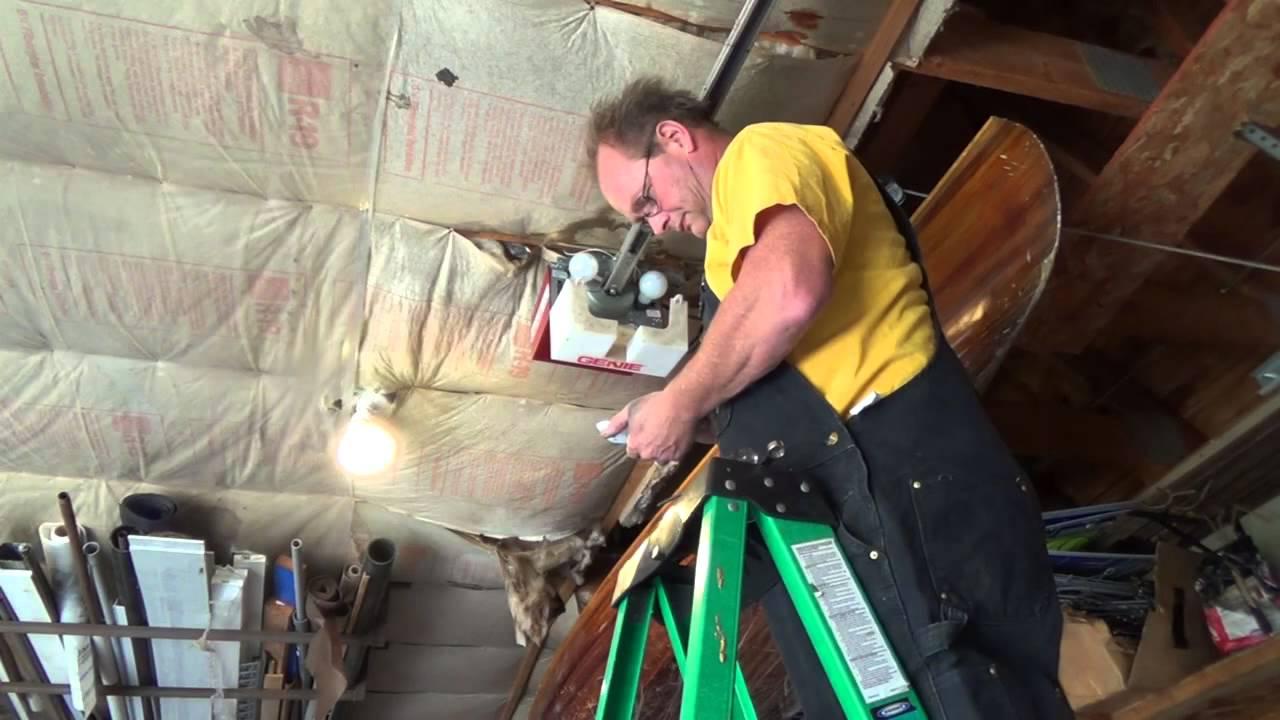 Genie Garage Door Opener Repair Youtube