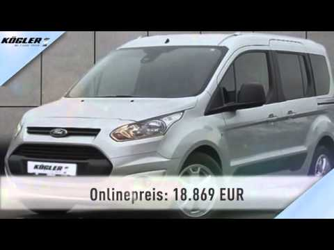 ford tourneo tourneo connect 1 6 tdci l1 trend 31 youtube. Black Bedroom Furniture Sets. Home Design Ideas