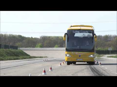 Mercedes-Benz Travego - ESP On The Test Track