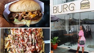 THE BEST BURGER IN LAGOS? | BURG | WHERE I ATE TODAY
