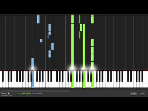 How to Play Everything's Not Lost by Coldplay on Piano