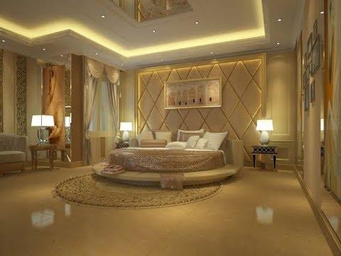 تصاميم مودرن لسقف غرف النوم الرئيسية