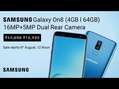 Samsung Galaxy On8 Full Specifications, Price, Features, Camera, Official Video, Trailer, First Look