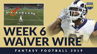 ADD DROP: Find Your Week 6 Fantasy Waiver Wire Answers!