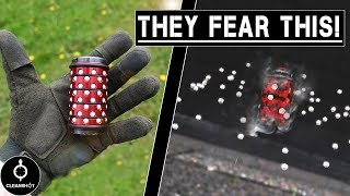 Scaring the $&*% out of Players with a BIG BANG GRENADE!