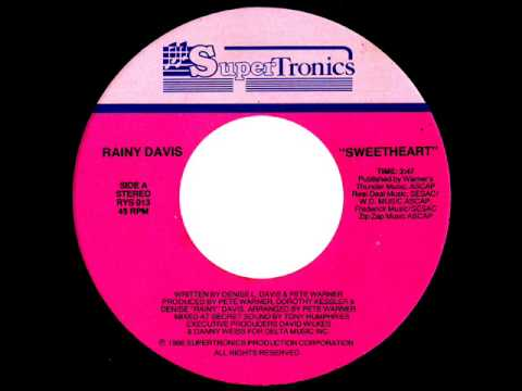 Rainy Davis - Sweetheart (Original Radio Mix)
