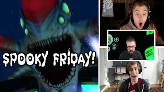 Subnautica Scary Encounters Compilation | Spooky Friday #8