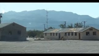 ABANDONED TOWN in California desert, gold rush town time has forgotten - Desert Center, California