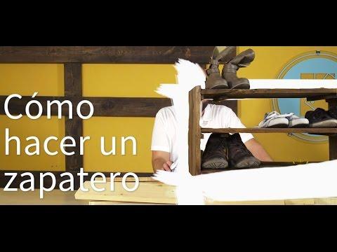 C 243 Mo Hacer Un Zapatero Con Un Par De Palets Re Crea