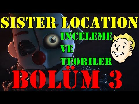 Türkçe - Five Nights at Freddy's - Sister Location - İnceleme ve Teoriler - BÖLÜM 3 #RubinQuik thumbnail