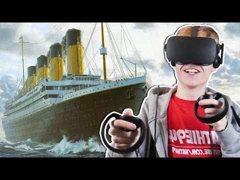 EXPLORING THE RMS TITANIC IN VIRTUAL REALITY  | Titanic VR Experience (Oculus Touch Gameplay)