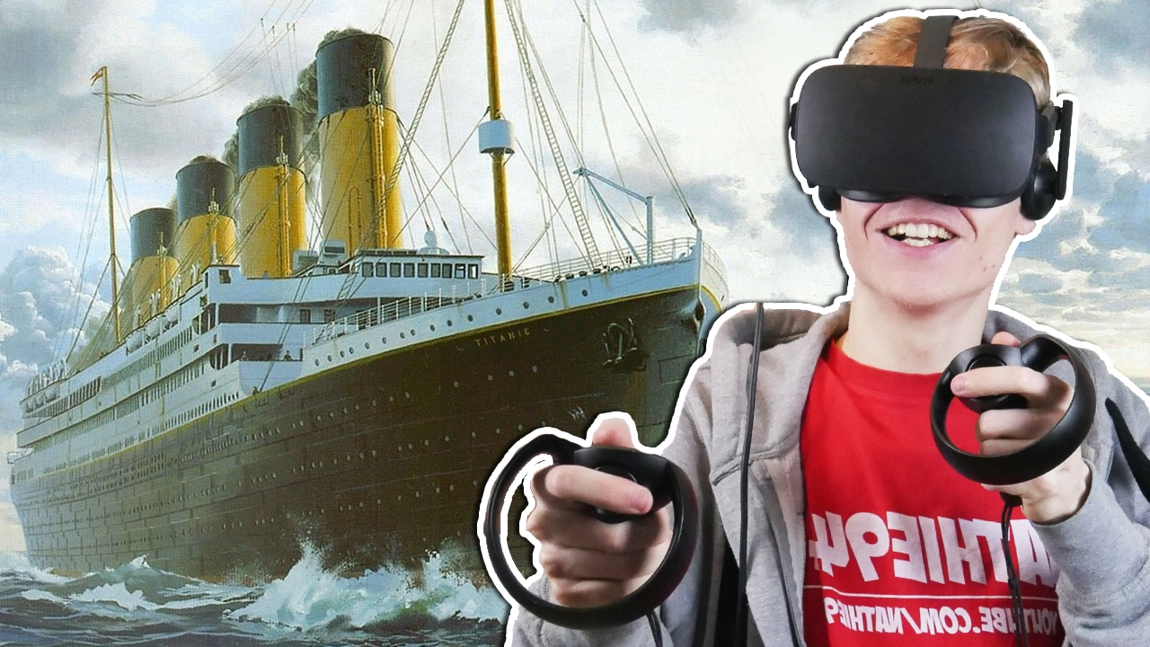 EXPLORING THE TITANIC SHIPWRECK IN VIRTUAL REALITY  | Titanic VR Experience (Oculus Touch Gameplay)