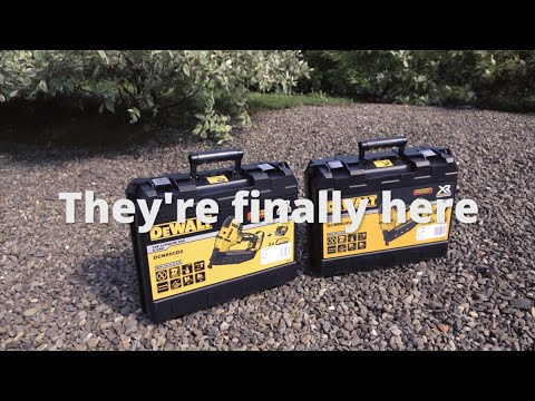 DeWALT DCN660 Brushless 2nd Fix Nailer Kits from Toolstop - YouTube - Linkis.com