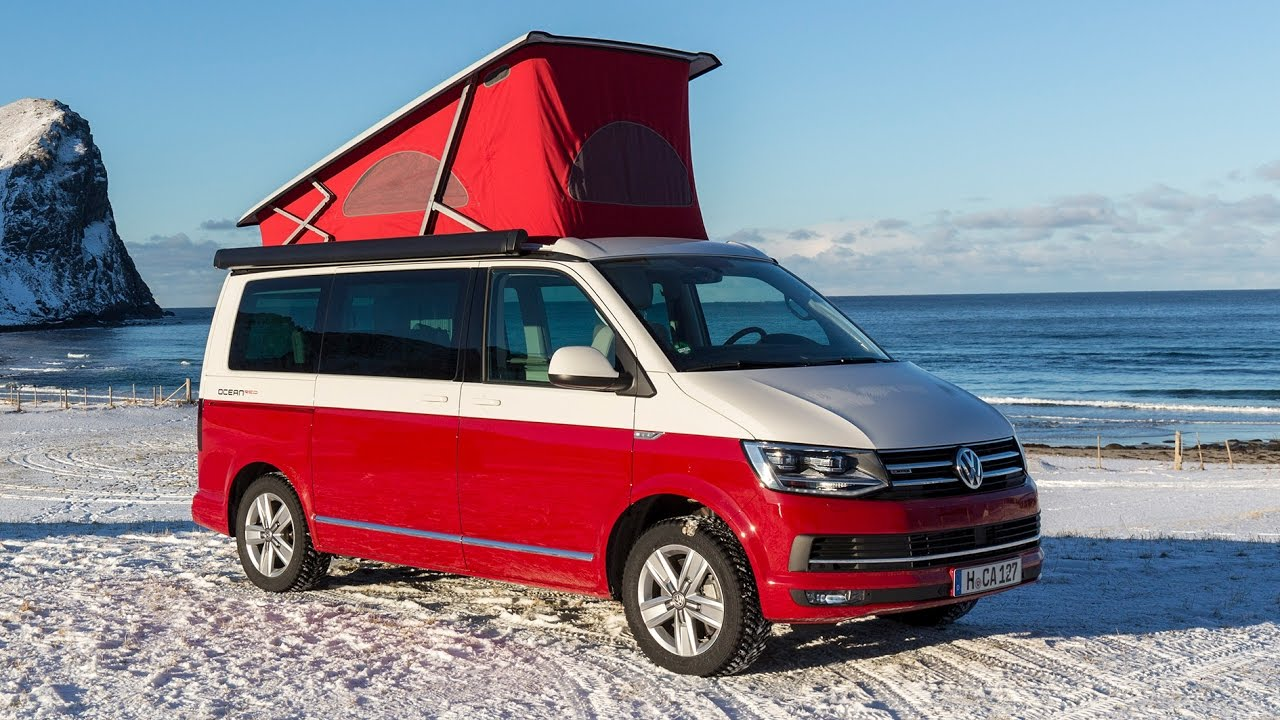 2017 volkswagen vw t6 california lofoten footage sony. Black Bedroom Furniture Sets. Home Design Ideas