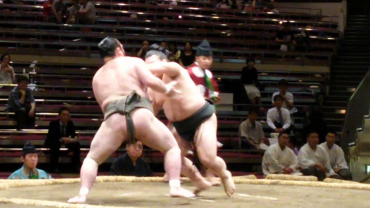 力斗 勝ち 平成27年大相撲五月場...