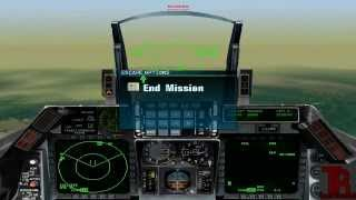 Falcon 4.0 gameplay