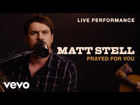 "Matt Stell - ""Prayed for You"" Live Performance | Vevo"