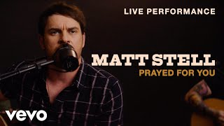 """Download Matt Stell - """"Prayed for You"""" Live Performance 