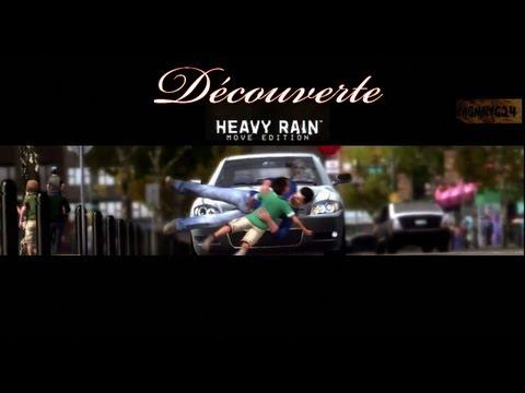 """Découverte de """"Heavy Rain"""" (PS3) -une histoire censée et de bons graphismes = assez bon jeu !;-)"""