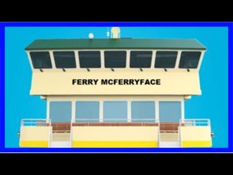 Sydney ferry named ferry mcferryface