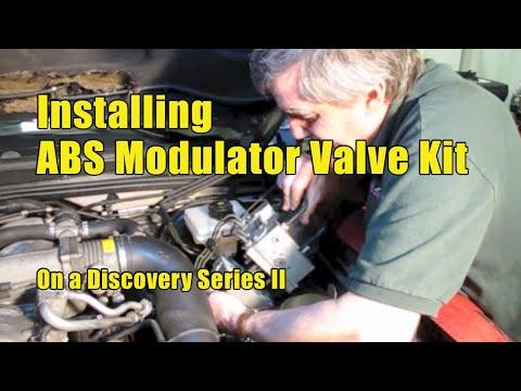 Atlantic British Presents: Installing ABS Modulator Valve Kit On Discovery  Series II