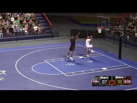 NBA 2k18 - Vince Carter vs Grant Hill - Who plays defense in a 1 v 1
