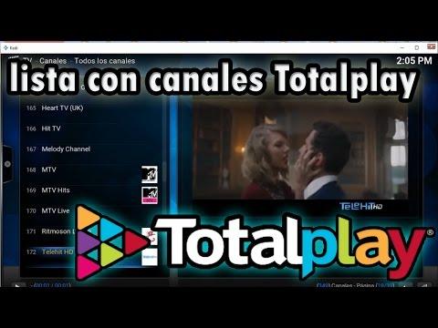 Lista Remota canales de TotalPlay funcionando al 100% Con canales premium HBO,FOX