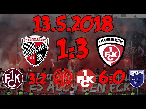 FC Ingolstadt 1:3 1. FC Kaiserslautern - 13.5.2018 - Stadion VLog-XXL!!!