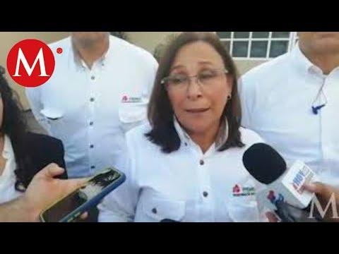 Rocío Nahle recorre refinería Madero