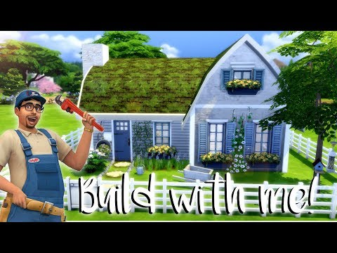 The Sims 4: BUILD WITH ME + CC LINK (FREE STUFF PACK)