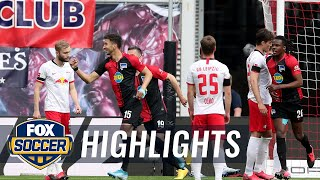 Hertha Berlin Deny Leipzig 2nd Place With Late Penalty Kick, 2-2 Draw | 2020 Bundesliga Highlights