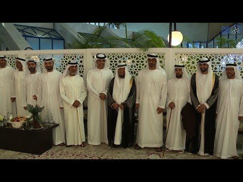 محمد بن زايد يحضر زفاف ذياب عيسى بن عبلان المزروعي