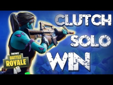 Solo win!! (altes Gameplay)