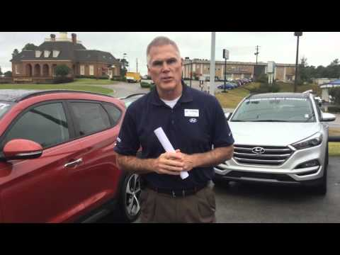 Hello Vicky, Check out this video on the 2016 Hyundai Tucson at Tameron Hyundai in Hoover, AL
