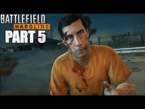 Battlefield Hardline Walkthrough Part 5 - Episode 5 Gauntlet - Gameplay With Commentary