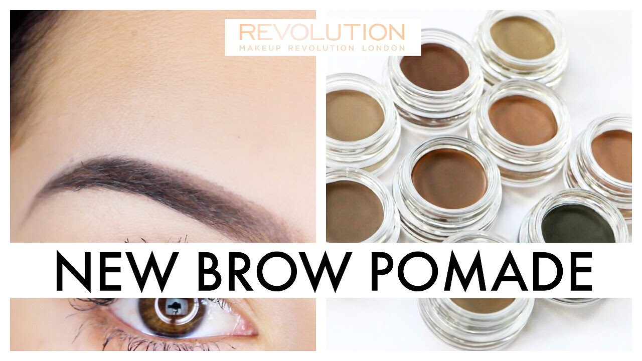 New Makeup Revolution Brow Pomade Youtube