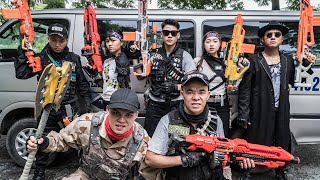 LTT Game Nerf War : TWO Warriors SEAL X Nerf Guns Fight Braum Crazy Mission Impossible Of Captain