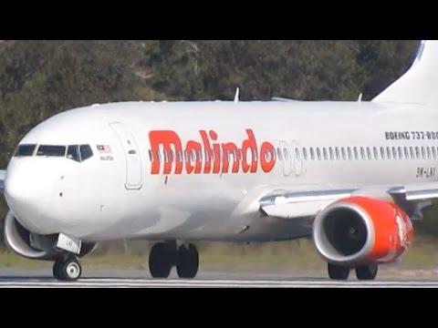 INCREDIBLE SPOOL UP | Malindo Air Boeing 737-8GP Takeoff at Perth Airport