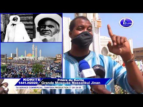 Korite 2020 A Massalikoul Djinane Un Talibe Cheikh Reconnaît Que Les Mourides Ont Sauvés L'islam