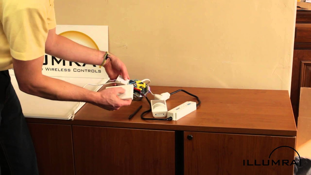 Wireless 0 10v Led Dimmer Control Demo Kit Youtube Dimming Driver Wiring Diagram Panel